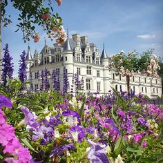 Château de Chenonceau, Loire Valley, France :: This Is Glamorous Beautiful Castles, Beautiful Buildings, Beautiful Landscapes, Loire Valley France, Castle House, Beautiful Places To Travel, Beautiful Architecture, France Travel, Victorian Architecture
