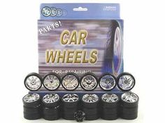 Replacement Rims For 1/24 Scale Cars & Trucks $10.99
