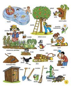 Velká kniha českých slov • Infoa Diy For Kids, Teaching, Comics, Logos, School, Drawings, Logo, Education, Cartoons