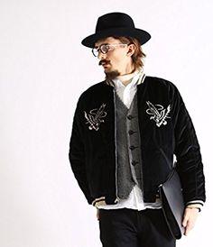 b1f9b9f247f コート・ジャケット(メンズ)ストアでGOLD  ゴールド VELVETEEN SUKA(ヴィンテージ スカジャン) MUS  S ブラックなどがいつでもお買い得。当日お急ぎ便対象商品は、  ...