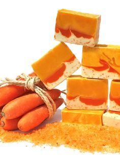 Carrot soap  http://jabonesramy.blogspot.com.es/