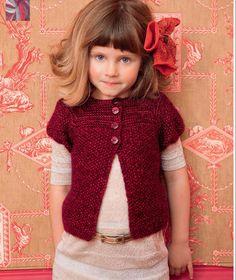 Penso a Me: Golfino bimba 4/6/8/10 anni Knitting For Kids, Baby Knitting Patterns, Camilla, Crochet, Couture, Wool, Sweaters, Hobby, Aurora