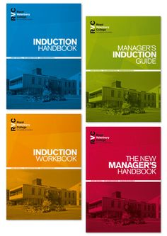 RVC Induction Guides by Michelle Owenson, via Behance