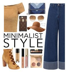 """minimal"" by hollistergirl911 ❤ liked on Polyvore featuring Alice + Olivia, Sea, New York, Frye, STELLA McCARTNEY, Chloé, Speck, Bobbi Brown Cosmetics, MAC Cosmetics, Stila and Yves Saint Laurent"
