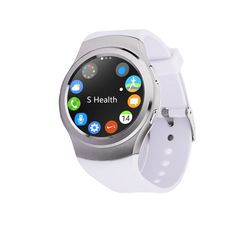 FREE Shipping TODAY - 2016 Smartwatch GSM SIM Smartwach Android Wear Card  Style Call Reminder  Impermeabile Bluetooth G3 MP3 Player Bracelet Silver Shop now