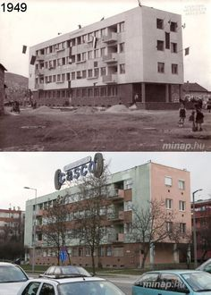 Miskolc, Tizeshonvéd u. Utca, Multi Story Building, Retro, Retro Illustration