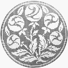 crochet em revista: esquemas crochet naperons
