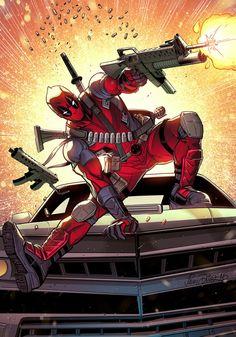 #Deadpool #Fan #Art. (Deadpool) By:JeanDiaz. ÅWESOMENESS!!!™ ÅÅÅ+