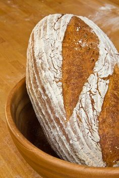 Another Baurnbrot. Sourdough Recipes, Bread Recipes, Cooking Recipes, Weber Recipes, German Bread, Olive Bread, Dough Ingredients, Easy Recipes For Beginners, Our Daily Bread