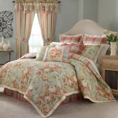 Waverly® Spring Bling 4-pc. Reversible Floral Comforter Set & Accessories   found at @JCPenney