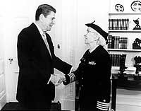 Grace Hopper and President Reagan:'I'm older than you are.'