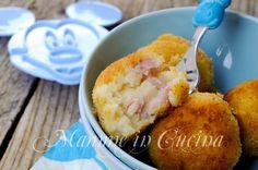 Polpette di patate con ricotta