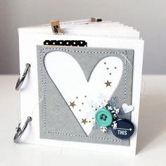 Love This mini album by MelBlackburn - Scrapbooking Kits, Paper & Supplies, Ideas & More at StudioCalico.com!