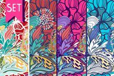 Bright ocean ~ Patterns on Creative Market
