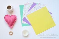 Cómo hacer grullas de origami y armar un móvil - Guía de MANUALIDADES Coasters, Diy, Tableware, Inspiration, How To Make, Paper Ornaments, Patterns, Build Your Own, Biblical Inspiration