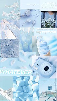 blue aesthetic walpaper