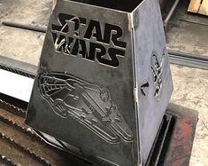 Darth Vader Helm, Vader Helmet, Millennium Falcon, Fire Pit Death Star, Outdoor Wood Burner, Outdoor Pavillion, Outdoor Grill, War Pigs, Star Wars