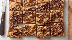 Junk Food Chocolate Chip-Pretzel Cookie Bars - This salty-sweet combo is everything you could want in a snack! Pretzels and butterscotch chips are added to chocolate chip cookie mix and baked into tasty cookie bars. Don't forget the chocolate drizzle! Pretzel Cookies, Yummy Cookies, Pretzels, Bar Cookies, Junk Food, Chocolate Chip Cookie Mix, Chocolate Drizzle, Cookie Recipes, Dessert Recipes