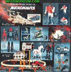 Micronauts!!! Still love them.