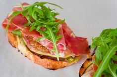 Aus der Schatzkiste: Bruschetta mit Feigen und Parmaschinken | Nur 5 Zutaten Blog