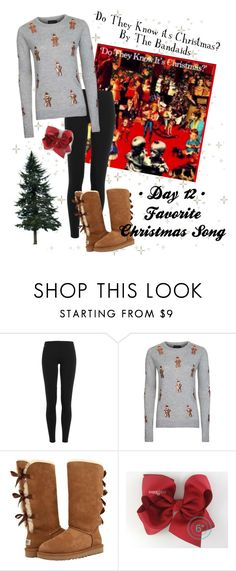 """""""Day 12 • Favorite Christmas Song"""" by horsingaroundtomboy ❤ liked on Polyvore featuring Ralph Lauren Blue Label, Topshop, UGG Australia and 30DaysOfChristmas2k16"""