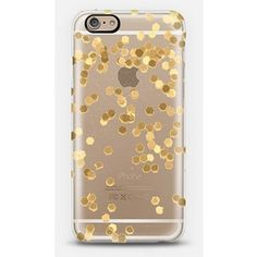LIMITED EDITION GOLD iPhone 6 plus Transparent Case iPhone