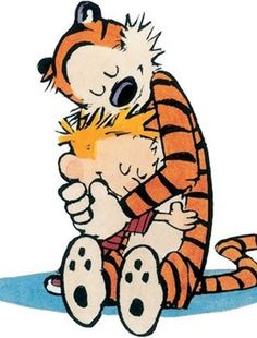 Calvin & Hobbes - I nearly fainted from happiness when a friend gave me the hardcover treasury some years ago. I have been a huge fan for years and years.