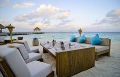 Jumeirah Vittaveli Resort, Maldives - Mu Beach Bar  Grill Restaurant