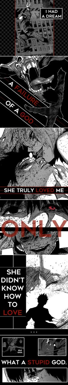 Tokyo Ghoul - Ishida Sui wrote the poem, here is the translation: http://makyun.tumblr.com/post/133333227397/translation-of-ishida-suis-tumblr-post-16-nov