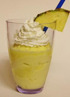 Pineapple Dole Whip...just like DisneyWorld