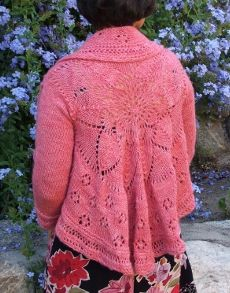 Sunflower Swing, llama sparkle shown in Coral Bells