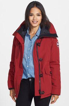 manteau canada goose femme constable parka marron