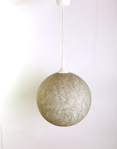 Favorite  Like this item?    Add it to your favorites to revisit it later.  Handmade lamp, lamp shade, hanging lamp, Contemporary design interior accent Neutral gray