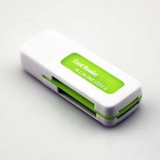 All In 1 USB 2.0 Multi Card Micro SD Mini SD TF M2 Flash Memory Reader