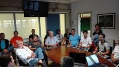 TIEMPO DE DEPORTE: La organización se reunió con los pilotos del Camp...