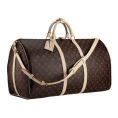 Louis Vuitton Handbags #Louis #Vuitton #Handbags - Keepall 60 With Shoulder Strap - $276.99