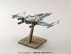 Bandai x Star Wars The Force Awakens 1 / 72 x-Wing Fighter Resistance specifications