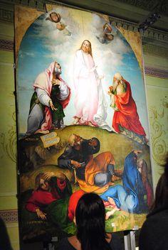 La trasfigurazione - #LorenzoLotto #invasionidigitalimarche #recanati