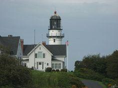 Cape Elizabeth Lighthouse. Cape Elizabeth, Maine