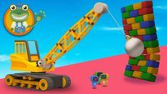 Ryan The Wrecking Ball Crane Visits Gecko's Garage | Video For Kids