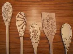 wooden spoon woodburning - Google Search