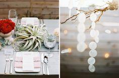Eine Hochzeitsidee in Rot, Gold und Weiß für Hochzeiten im Winter   Friedatheres