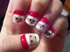 Nail Art Designs for Christmas Collection