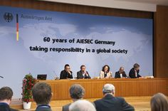 AIESEC 60th Anniversary Panel Discussion by aiesecgermany, via Flickr
