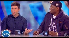 SNL's 'Weekend Update' Hosts Colin Jost and Michael Che Join Hot Topics ...