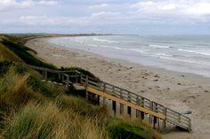 East Beach facing Port Fairy Bay near the township of Port Fairy, VIC