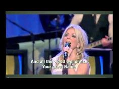 Your Great Name - Lakewood Ensemble - Lakewood Church is off the chain so to speak, awesome praise & worship.  Would love to worship there someday!!!