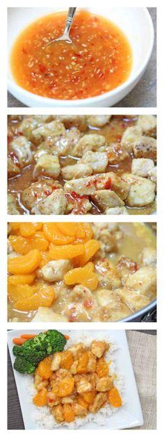 Spicy Mandarin Orange Chicken | 5DollarDInners.com