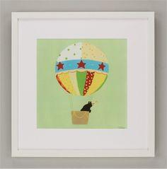 Up, Up & Away I Framed Art #rosenberryrooms