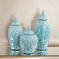 Howard Elliott Feathered Textured Decorative Urn & Reviews | Wayfair